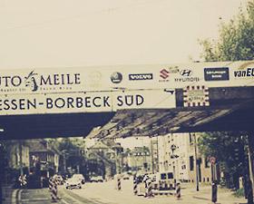 Reib (III): Der Charme von Borbeck