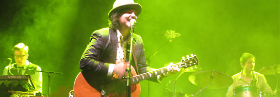 Wilco & Jonathan Wilson in Berlin: Netter Abend?
