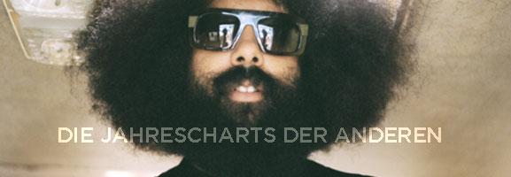 Listomania 2011! Die Jahrescharts der anderen