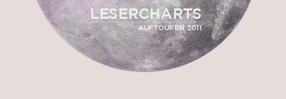 AUFTOUREN: 2011 – Die Lesercharts