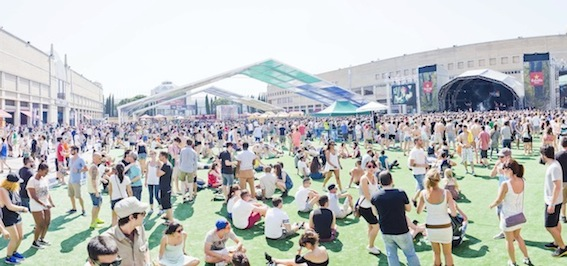 AUFTOUREN beim Sónar Festival Barcelona