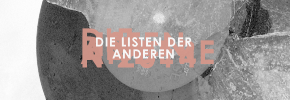 AUFTOUREN 2014 – Die Listen der anderen