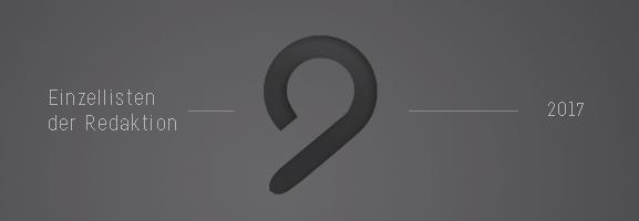 AUFTOUREN 2017 – Die Einzellisten der Redaktion